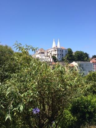 vista da cidade de Sintra