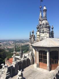 Palácio de Sintra e suas esculturas