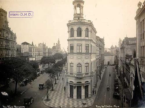 Av. Rio Branco com Rua do Chile
