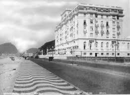 Copacabana com o Copacabana Palace