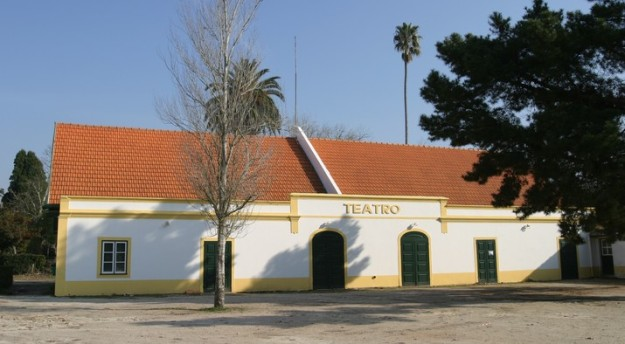 Fachada do teatro da Vista Alegre na atualidade arq. CMA